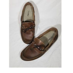 L.L. Bean Driving Loafers Men's Sz 9 EE